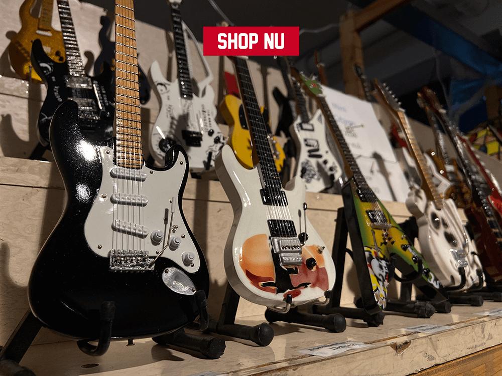 Mini gitaren en shop nu banner